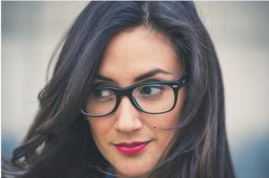 makeup en bril